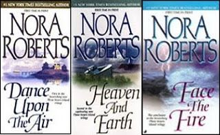 The Three Sister Trilogy by Nora Roberts - Romance novels about witches,  magic and an age old curse.  I have to try this series.: Sisters Trilogy, Book Nerd, Islands Trilogy, Nora Robert, Book Author, Sisters Islands, Romances Novels, Three Sisters, Book About Witches