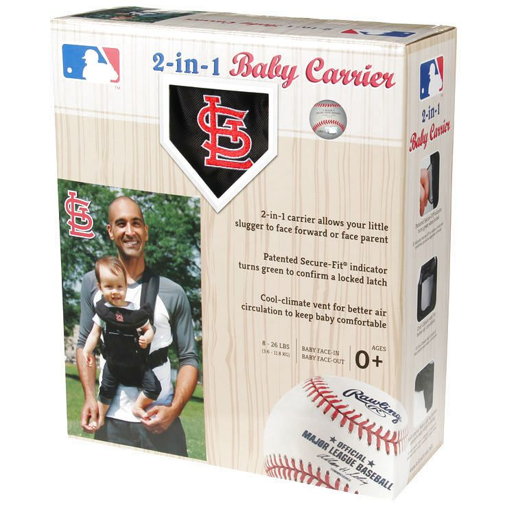 St. Louis Cardinals Baby Carrier by Kolcraft - $51.99