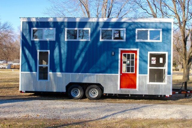 Relax Shack (Red) Tiny House on Wheels. - Tiny House Listings