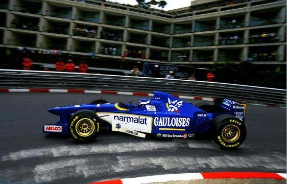Olivier Panis LIGIER JS43  1996 Monaco WINNERS !
