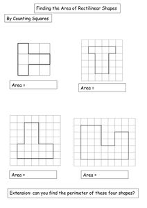differentiated rectilinear shapes worksheet by amwgauss uk teaching resources tes area and. Black Bedroom Furniture Sets. Home Design Ideas
