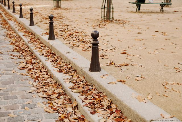 Place Dauphine in the Fall by Paris in Four Months, via Flickr