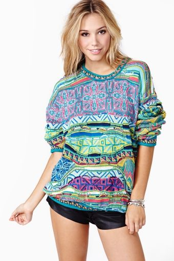 NO MORE SWEATERS, I JUST WANT THIS