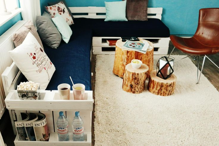 die besten 25 palettensofa bauen ideen auf pinterest. Black Bedroom Furniture Sets. Home Design Ideas