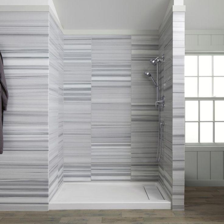 Bathroom Casual Modern White Grey Bathroom Decoration