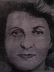 Martha Rendell (10 August 1871 – 6 October 1909) was the only woman to be hanged (legally) in Western Australia. She was convicted of murdering her de facto husband's son, Arthur Morris, in 1908. She was also suspected of killing his two daughters, Annie and Olive, by swabbing their throats with hydrochloric acid. Although the children died slow and agonising deaths, they had been treated by a number of doctors during their illness, only one of whom expressed any doubts about their deaths.