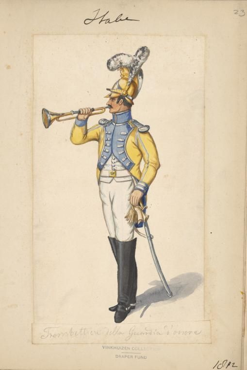 Italy;Trumpeter Guard d'Honneur