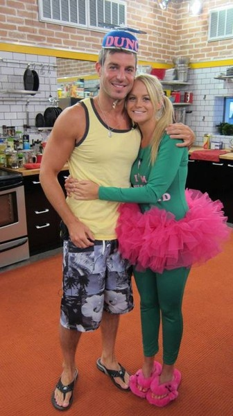 Jeff  Jordan...America's Reality TV Sweethearts. Who doesn't love these two from CBS's Big Brother?