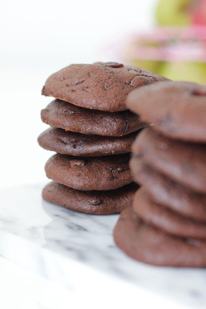 Chocolade courgette koekjes | kinder recept