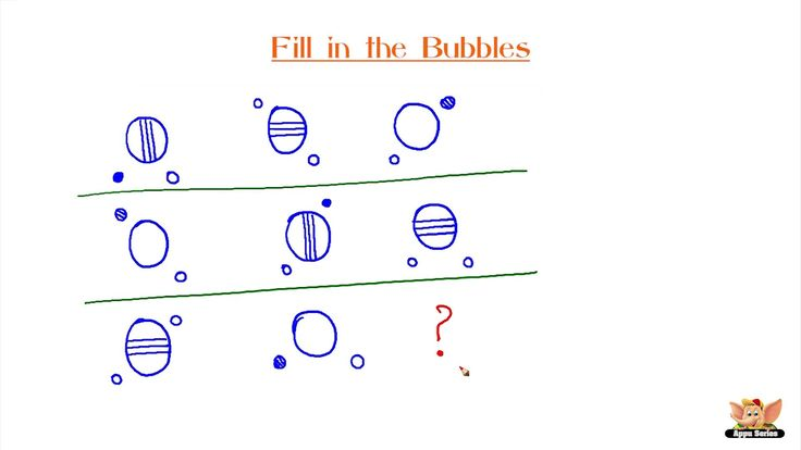 Test Your IQ - Fill In The Bubbles