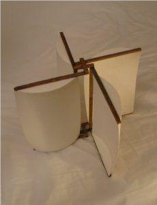 Maquette d'une éolienne / Construire une éolienne - Fabriquer une eolienne à axe vertical