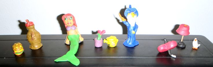 Some of my play dough Creations