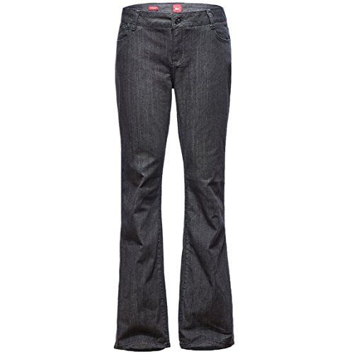 Womens Fit Bootcut Straight Leg Jeans with Pockets Black 16 ** You can get additional details at the image link.(This is an Amazon affiliate link)