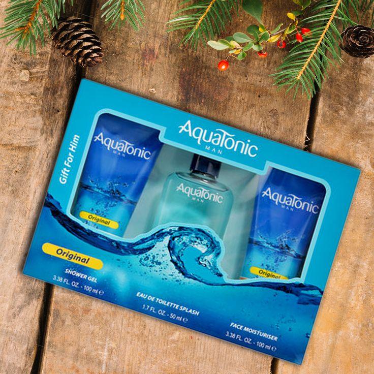 Οι γιορτές Έφτασαν ! Προετοιμαστείτε ... Aquatonic Man's Giftset Μόνο 9,90€ Αγόρασε το Δώρο σου εδώ:
