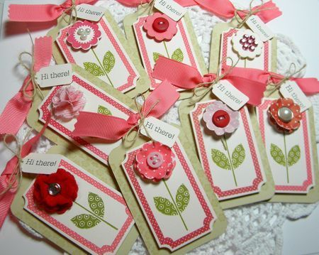 Christmas Decor Styles: Feedsack Christmas Stockings Bell Jardiniere Bee $18