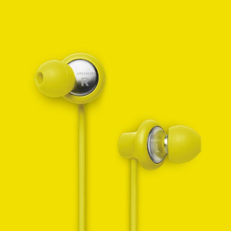 Urbanears Kransen Headphones in Citrus