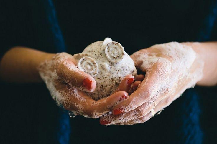 DIY savon exfoliant