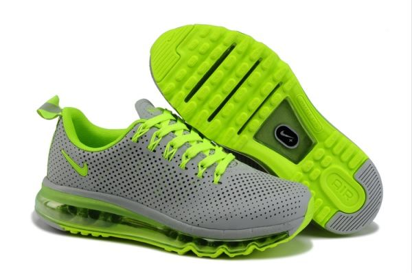 Nike Air Max 2009 womens Running Shoe Coal Gray Orange .