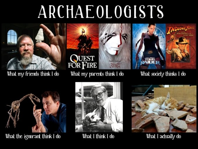 haha this is spot on...buuuuut I like to think I am doing what Indy and Lara do lol