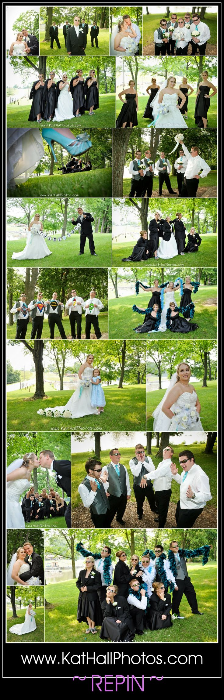 Fun Wedding Party Poses By Kat Hall Photography Weddingflowers Funwedding Weddingposes Weddingparty