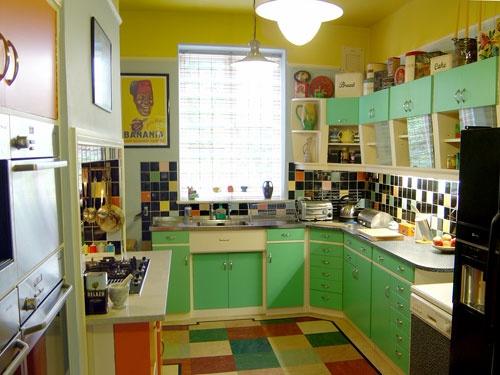 Vintage 60's kitchen