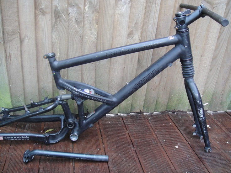 #2000 Cannondale BadBoy full suspension mountain bike frame Like, Repin, Share, Follow Me! Thanks!