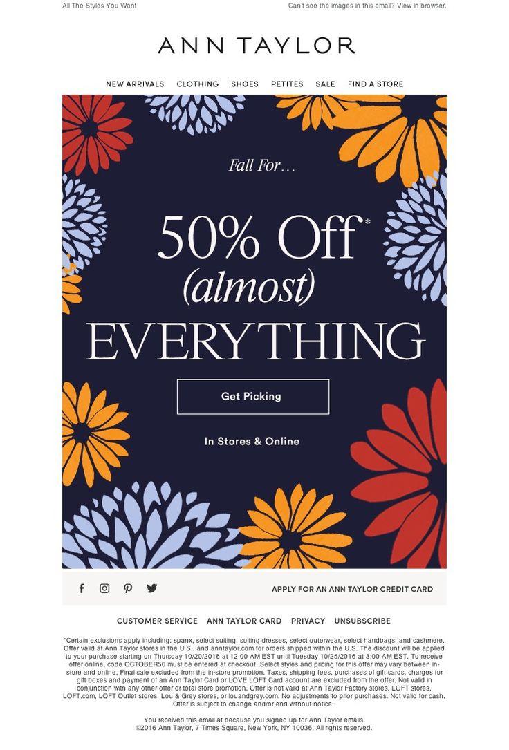 Ann Taylor - Believe It - 50% Off