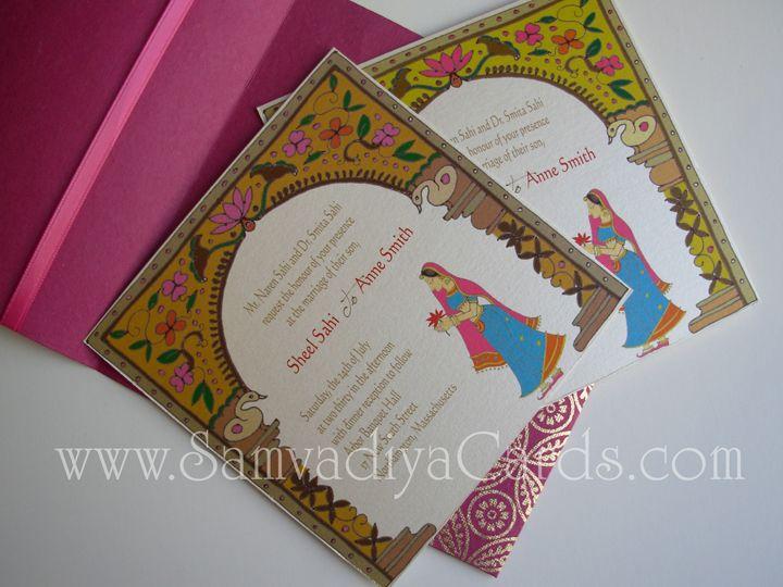 7 best indian wedding jaipur style images on pinterest indian samvadiya cards jaipur arch wedding invite with multiple inserts samvadiyacards stopboris Gallery