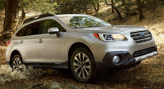 Subaru Outback 2015 a precios desde $24,895 en los EE.UU. » Los Mejores Autos