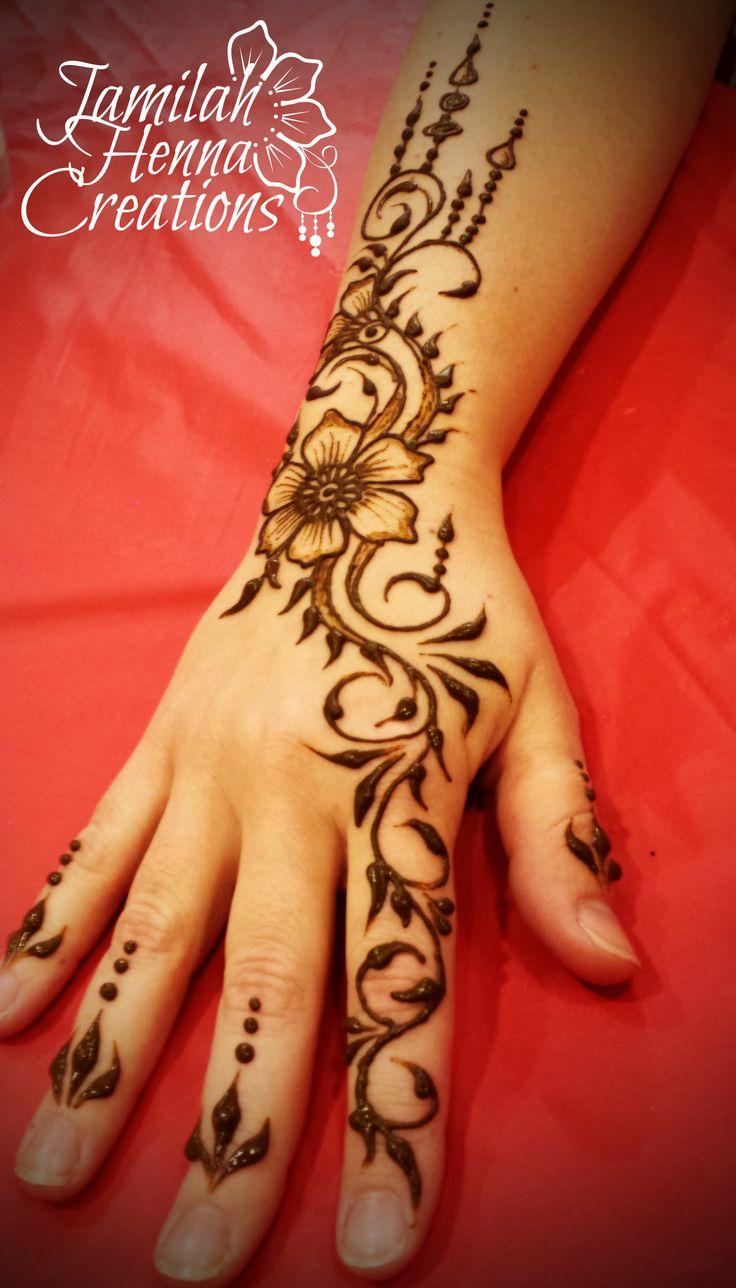 Henna Gathering 2014 drippy bits! www.JamilahHennaCreations.com