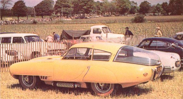 Rafael Trujillos Pegaso Z-102 Cupola. Visades på bilutställningen i New York 1953. Var i den dominkanska diktatorns ägo ännu när han mördades 1961