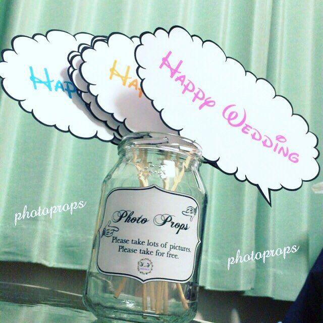 フォトプロップスを入れる瓶はこんな感じに\(´。•ᵕ•。`)/ ミッキーの手っぽくしました。 そして英語で決めてみました♫ 説明は日本語のほうがいいかなぁとも悩んだのですが、日本語にしちゃうと雰囲気が変わってしまうので英語にしました☆  これはジャムの瓶ですー!(⁎˃ᴗ˂⁎) まだまだ足りないから食べないとー! 太る…  リボンつけるか迷いちゅう⋈*。 とりあえずできたフォトプロップスを入れてみました。  #プレ花嫁 #2016年4月23日#2016春婚#2016年4月挙式#2016swd#2016wedding #9月23日入籍 #you23 #結婚式準備#結婚式手作り#結婚式DIY #ディズニーテーマ#ディズニーウェディング #大人ディズニー#フォトプロップス#フォトプロップス手作り#フォトプロップス入れ#おしゃれ#イニシャルロゴ DIYまとめてます\(´。•ᵕ•。`)/ #you0201DIY