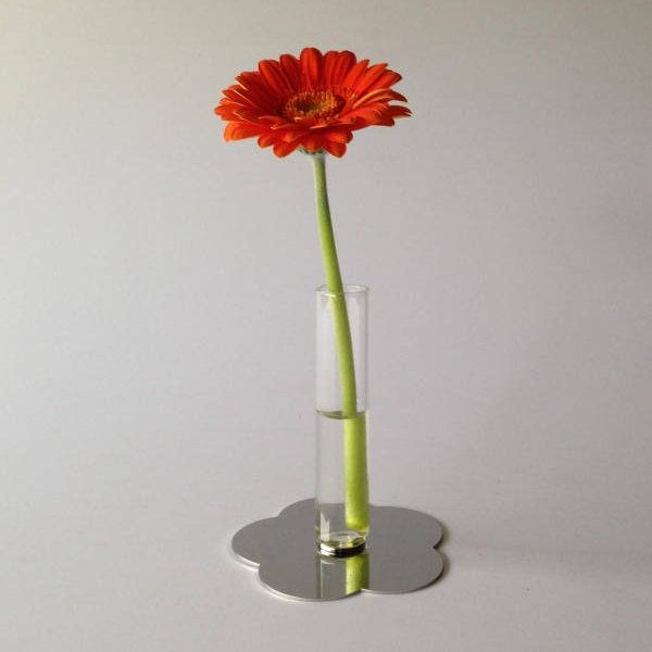 "Vaso Provetta ""iMAGNETIC"", Vetro Pyrex Soffiato, Base magnetica in Inox, Handmade in Italy di vetroedesign su Etsy"