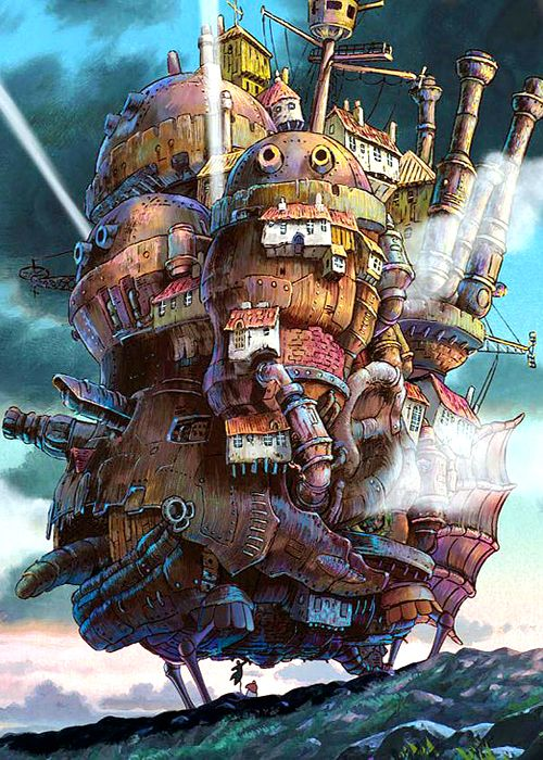 Howls moving castle best animated cartoon   'Howl: I feel terrible, like there's…
