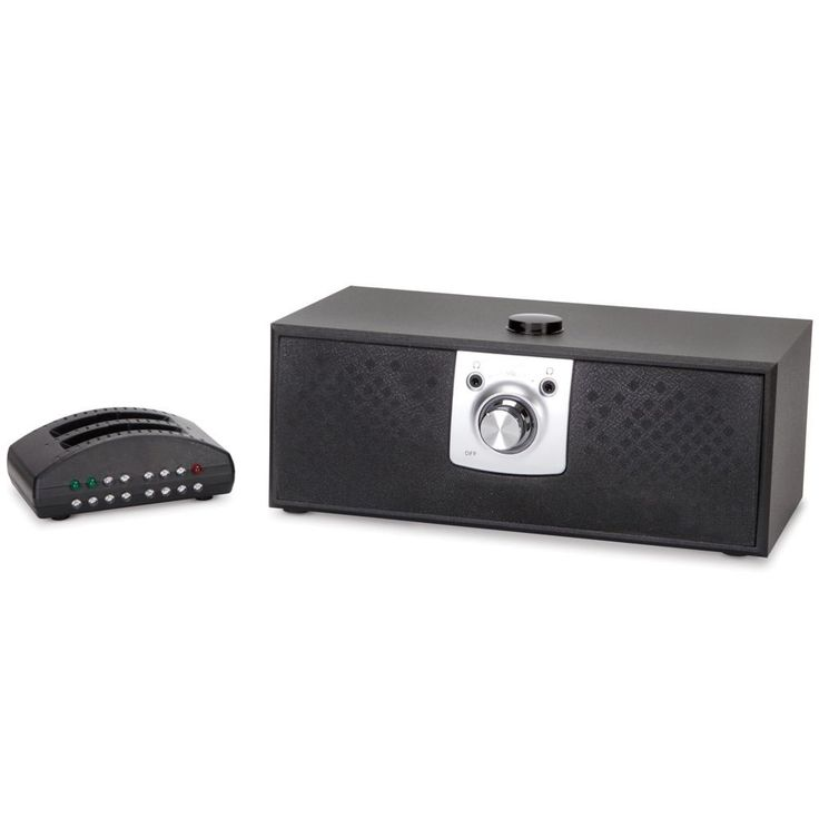 The Voice Clarifying TV Speaker - Hammacher Schlemmer. This is the wireless speaker that enhances television viewing by boosting the sound of dialog. An advanced microchip amplifies human speech frequencies above background noise so that spoken words are clearly audible.
