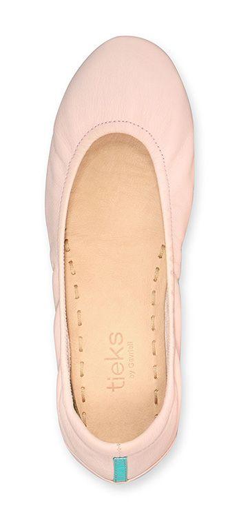 Ballerina Pink Tieks. #tieks