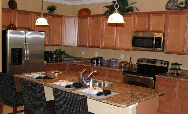 beautiful 'everything's included' trevi model home kitchen
