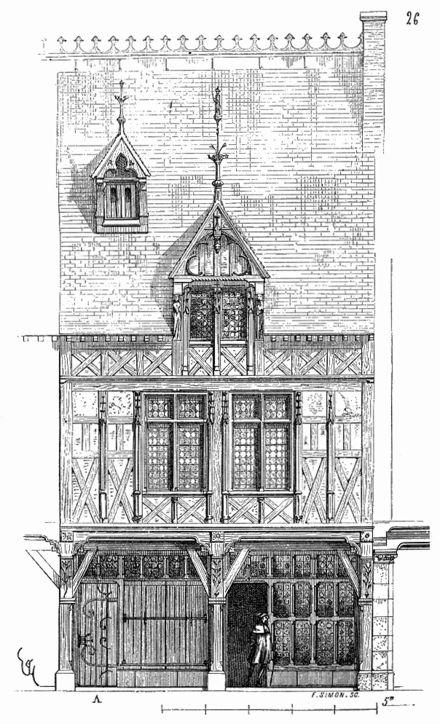 Maison.XVe.siecle.Beauvais