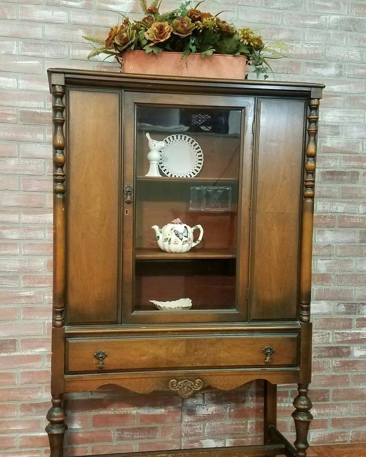 25 best ideas about antique china cabinets on