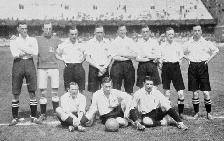 Stockholm 1912 equipe de football du royaume unis