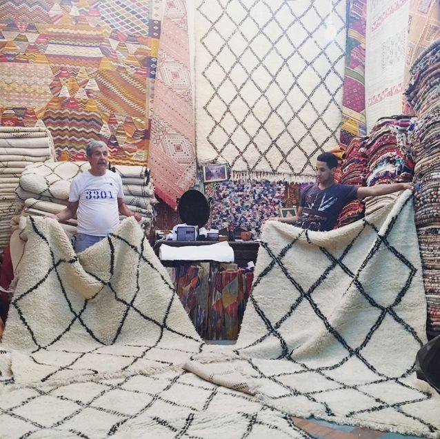 Beni Ourain Teppiche in Marrakesch kaufen: Meine Erfahrungen - Journelles