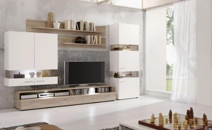 Wohnzimmer Wohnwand Weiss In 2020 Furniture Design Living Room
