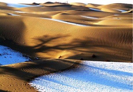 Desierto de Taklamakán China