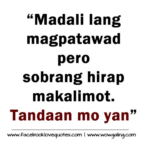 Pacute Com Tagalog Love Quotes Collections Online Tagalog Sad