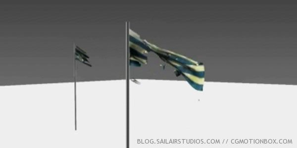 Tearing A Flag in 3ds Max 2013 using Mass FX & mCloth