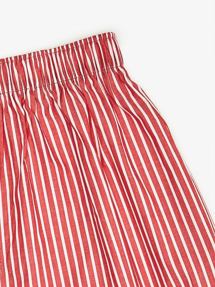 CALZONCILLO ESTAMPADO RAYAS ROJAS de HOMBRE - Homewear - Calzoncillo bóxer de Massimo Dutti de Primavera Verano 2017 por 9.95. ¡Elegancia natural!