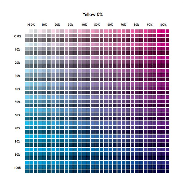 25+ beste ideeën over Cmyk color chart op Pinterest - Kleurkaarten - cmyk color chart