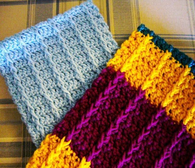 Double Crochet Front Post Scarf Double Crochet Scarves And Crochet
