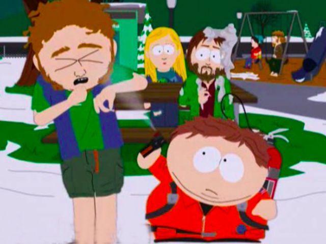 """LAS FRASES ÉPICAS DE SOUTH PARK -- """"Hippies, están por todos lados. Dicen que quieren salvar al mundo, pero lo único que hacen es fumar marihuana y oler mal"""" - Eric Cartman"""