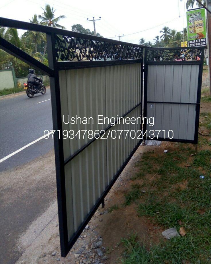 Gate Design | Simple Gate Design Sri Lanka | Main Gate| Sliding Gate Design  Sri